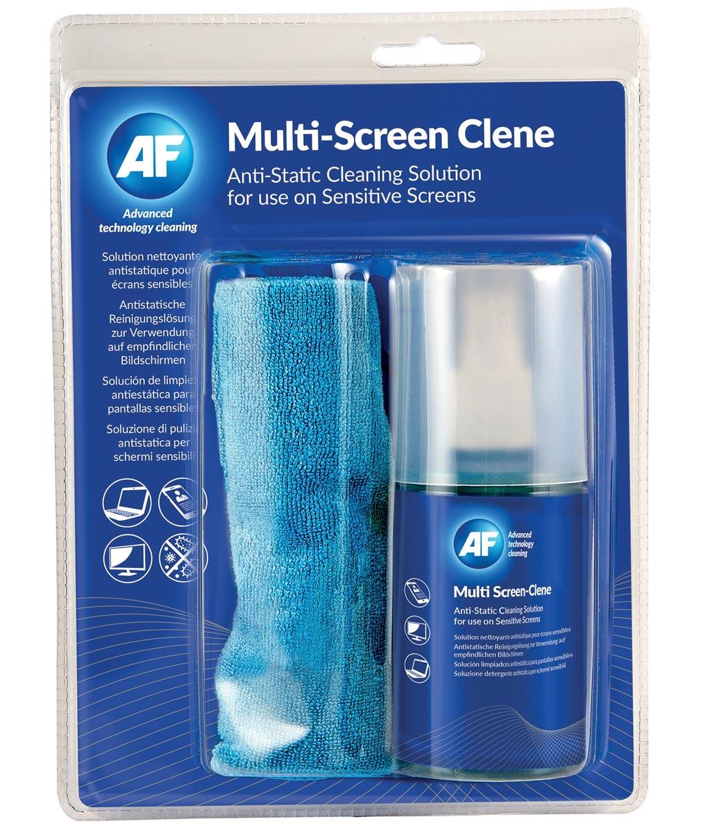 AF microvezeldoek en schermreiniger, flacon van 200 ml