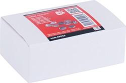 5 Star hoekpapierbinders aluminium, doos van 100 stuks