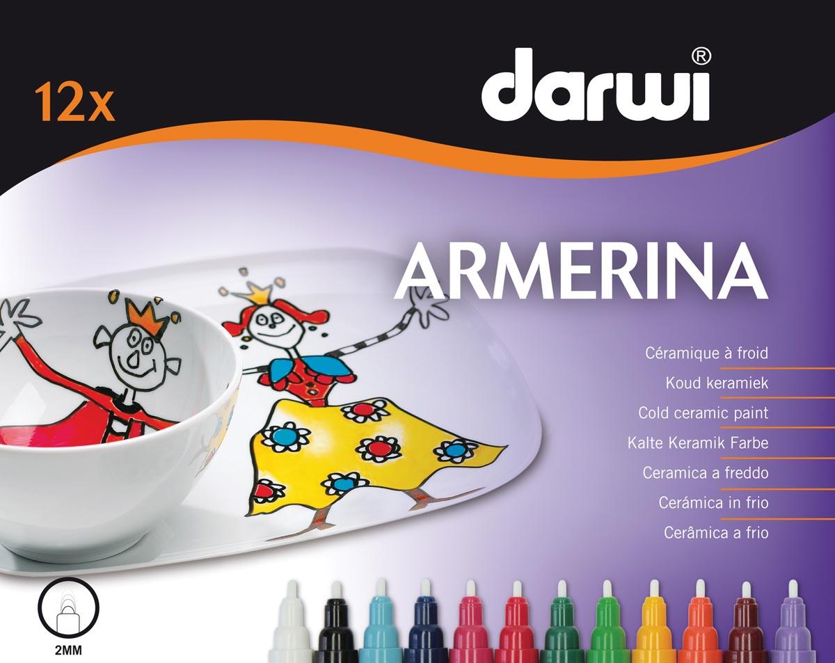 Darwi Keramische merkstift Armerina