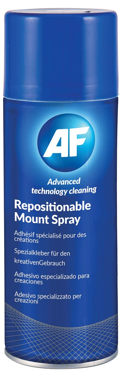 AF herpositioneerbare lijmspray, spuitbus van 400 ml