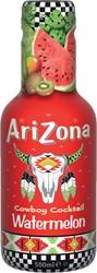 Arizona ijsthee Watermelon, flesjes van 0,5 L, pak van 6