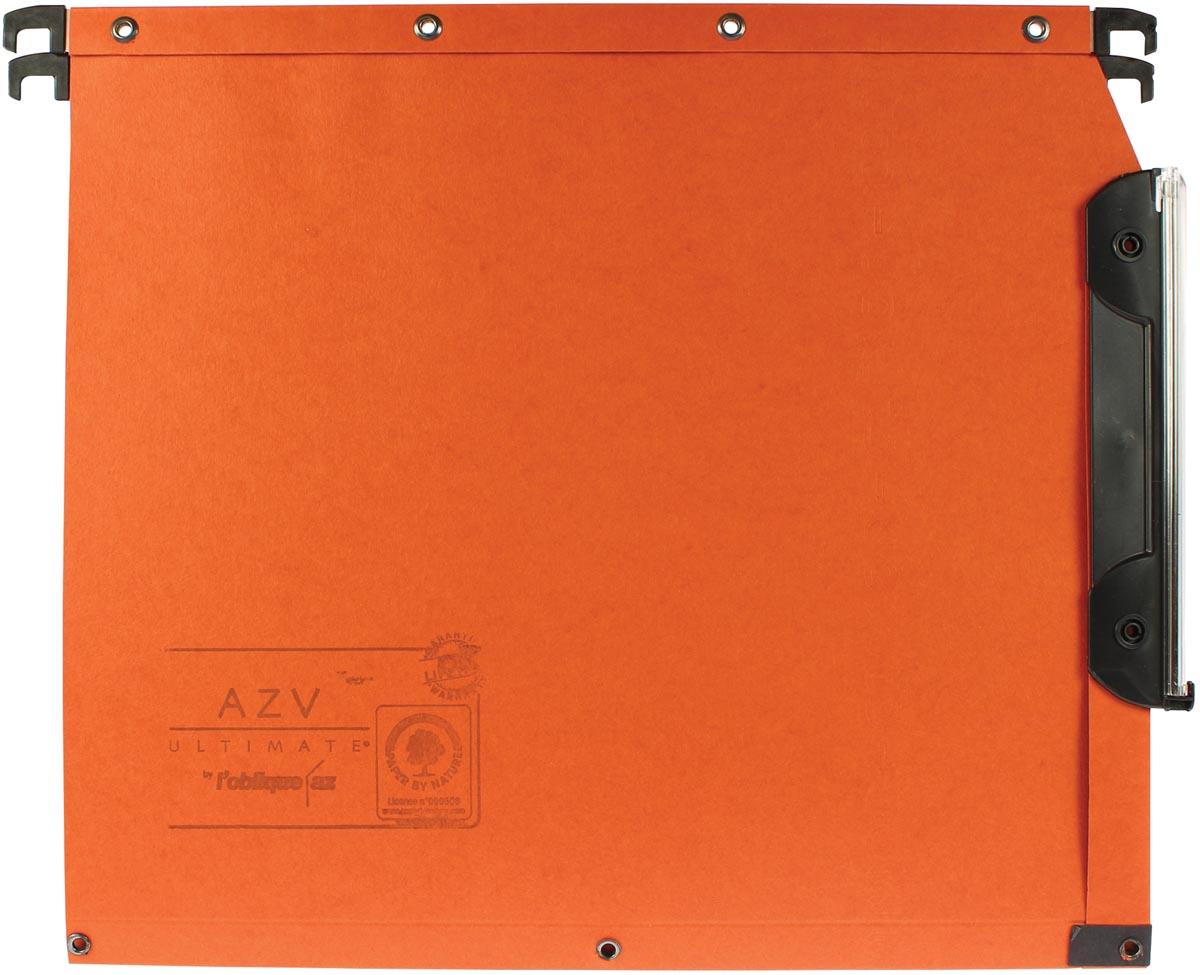 L'oblique hangmappen voor kasten AZV bodem 30 mm, oranje