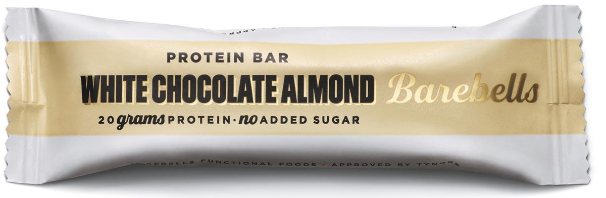 Barebells snack White Chocolate Almond, reep van 55 g, pak van 12 stuks