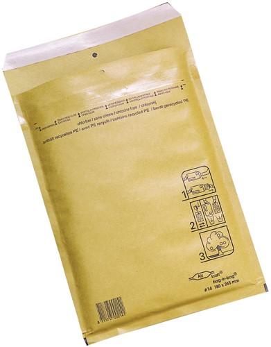 Jiffy Airkraft Bag-in-bag binnenft 100 x 165 mm, doos van 200 stuks