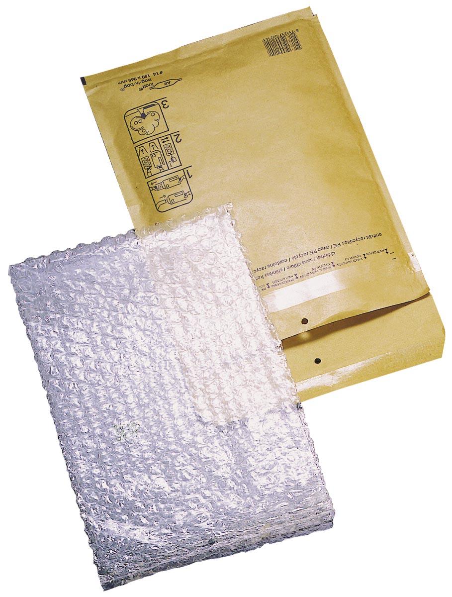 Jiffy Airkraft Bag-in-bag binnenft 230 x 340 mm, doos van 100 stuks