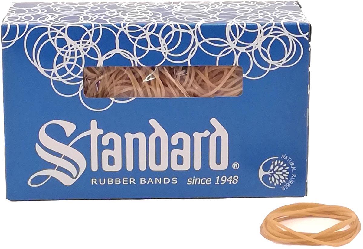 Standard elastieken 1,5 x 90 mm, doos van 500 g