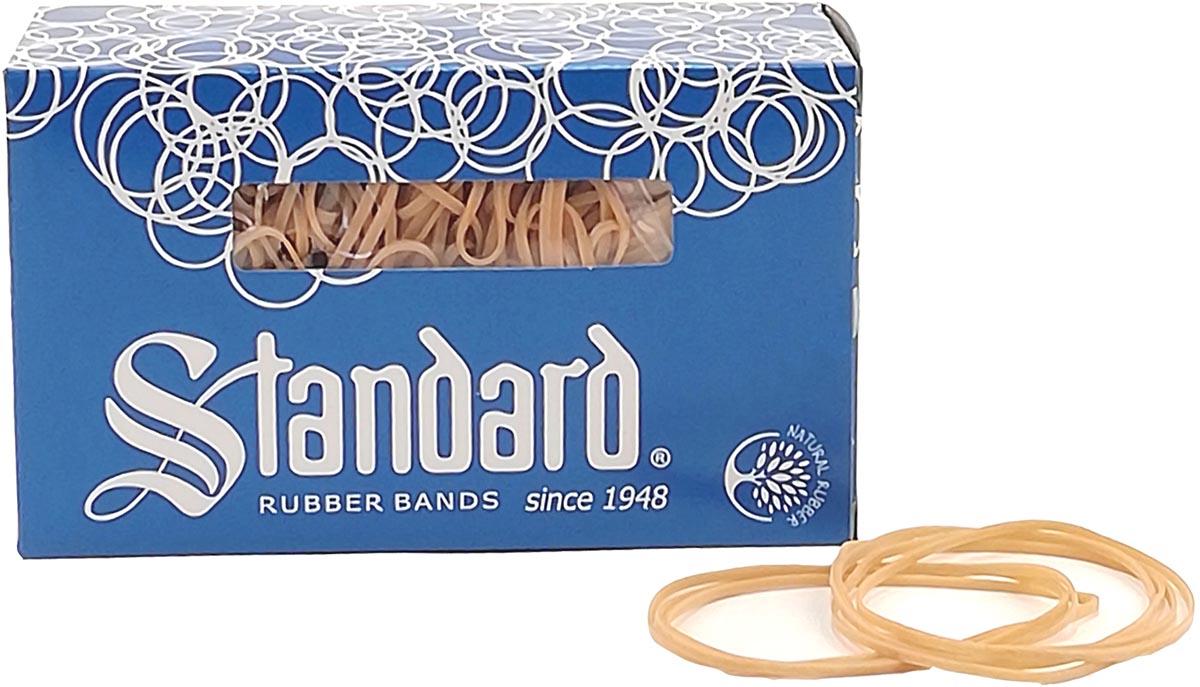 Standard elastieken 2,5 x 80 mm, doos van 500 g
