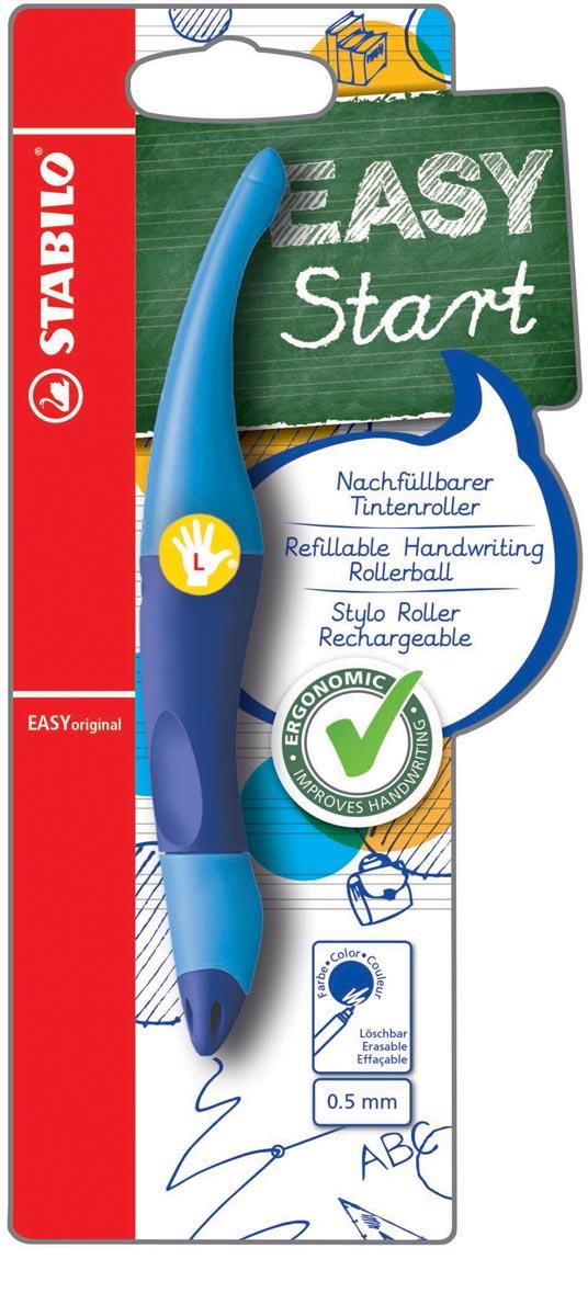 STABILO EASYoriginal roller, voor linkshandigen, blister van 1 stuk, blauw