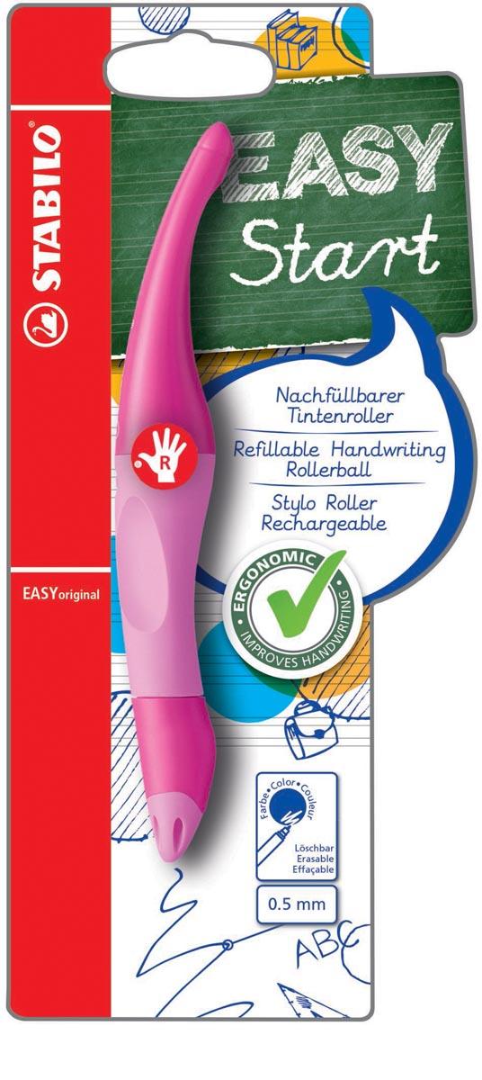 STABILO EASYoriginal roller, voor rechtshandigen, blister van 1 stuk, roze