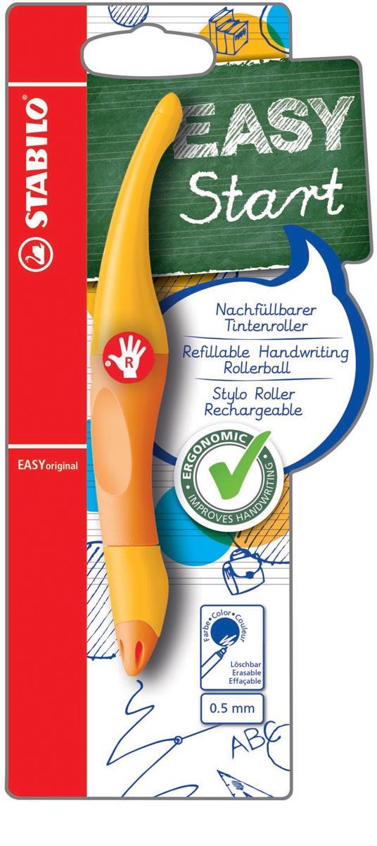 STABILO EASYoriginal roller, voor rechtshandigen, blister van 1 stuk, geel-oranje