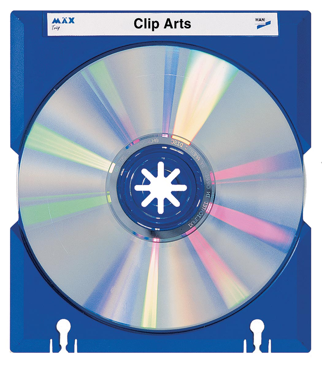 Han M�x CD/DVD doosje blauw