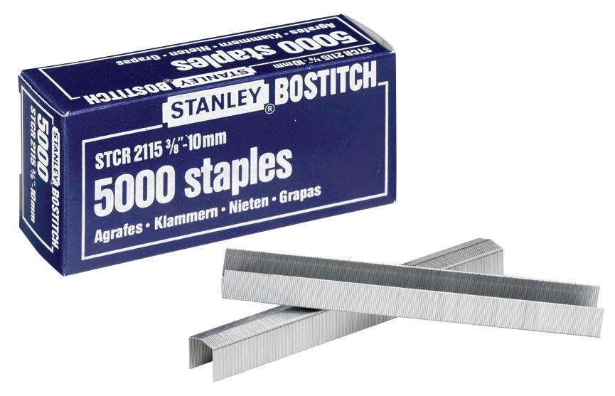 Bostitch nietjes STCR211510Z, 10 mm, voor B8P, B8HC, B8E, B8HDP, doos van 5000 nietjes