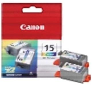 Canon inktcartridge BCI-15-BK, 80 pagina's, OEM 8190A002, zwart