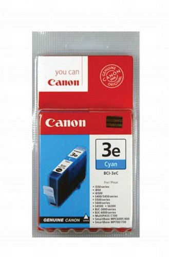 Canon inktcartridge BCI-3EC, 390 pagina's, OEM 4480A002, cyaan