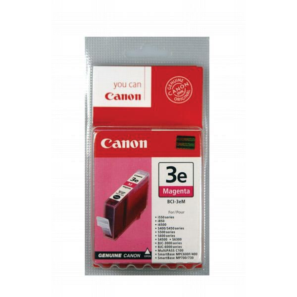 Canon inktcartridge BCI-3EM, 390 pagina's, OEM 4481A002, magenta