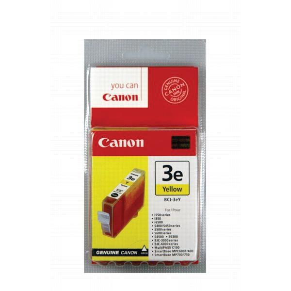 Canon inktcartridge BCI3-EY, 390 pagina's, OEM 4482A002, geel