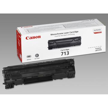 Canon toner 713, 2.000 pagina's, OEM 1871B002, zwart