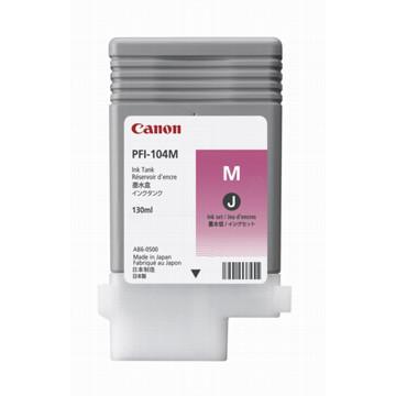 Canon inktcartridge PFI-104M, 130 ml, OEM 3631B001, magenta