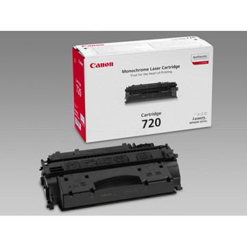 Canon toner 720, 5.000 pagina's, OEM 2617B002, zwart