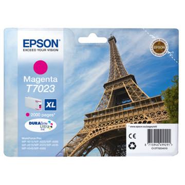 Epson inktcartridge T7033 XL magenta, 2000 paginas - OEM: C13T70234010