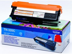 Brother Toner cyaan - 1500 pagina's - TN320C