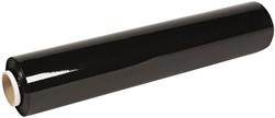 Transpal stretchfolie, ft 40 cm x 300 m x 17 micron, kleur zwart