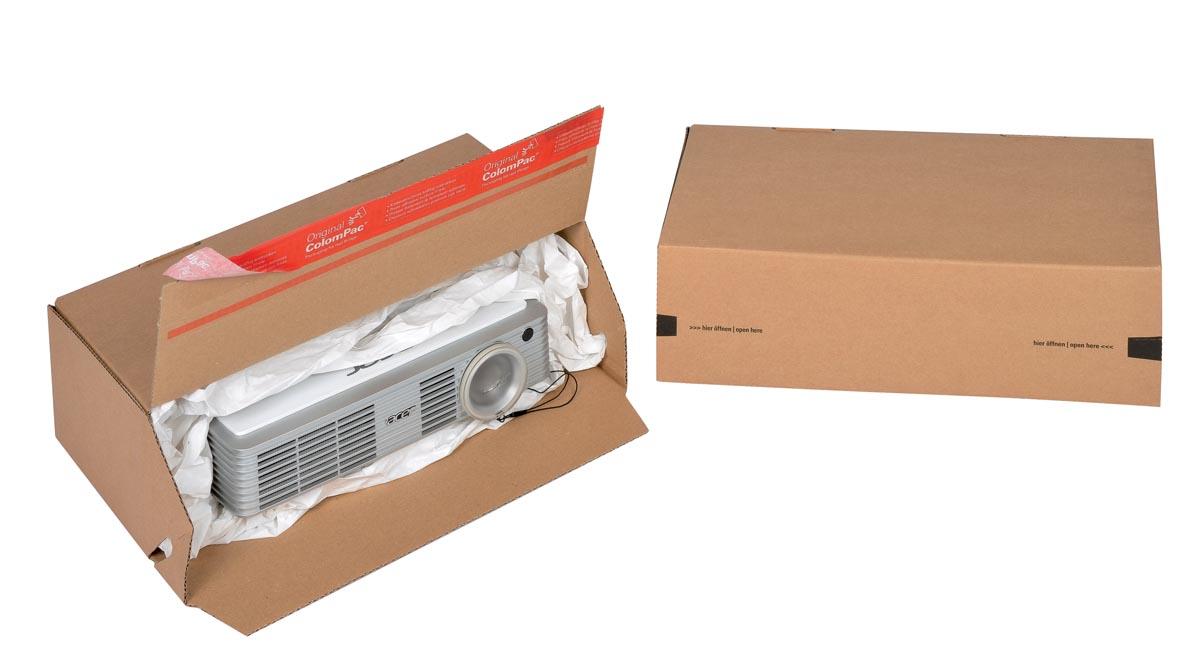 Colompac Eurobox Size M, binnenformaat 294 x 94 x 137 mm, bruin