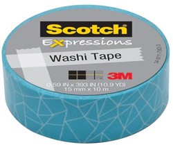 Scotch Expressions washi tape, 15 mm x 10 m, cracked