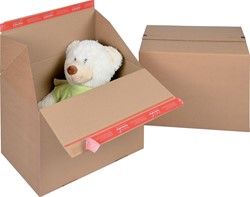 Colompac Eurobox Size L, binnenformaat 394 x 294 x 287 mm, bruin