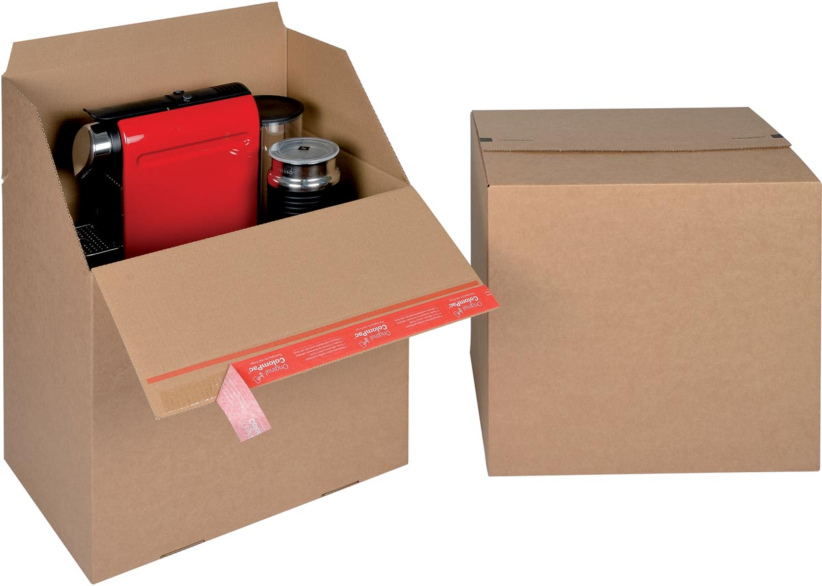 Colompac Eurobox Size L, binnenformaat 394 x 294 x 387 mm, bruin