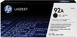HP Tonercartridge zwart 92A - 2500 pagina's - C4092A