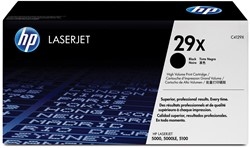 HP Tonercartridge zwart 29X - 10000 pagina's - C4129X