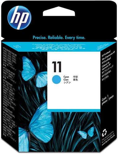 HP printkop 11, 24.000 pagina's, OEM C4811A, cyaan