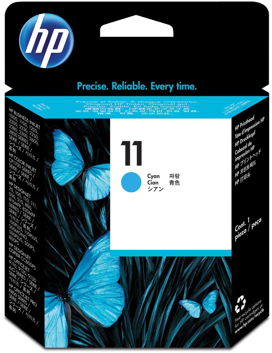 HP printkop 11, 24 000 paginas, OEM C4811A, cyaan