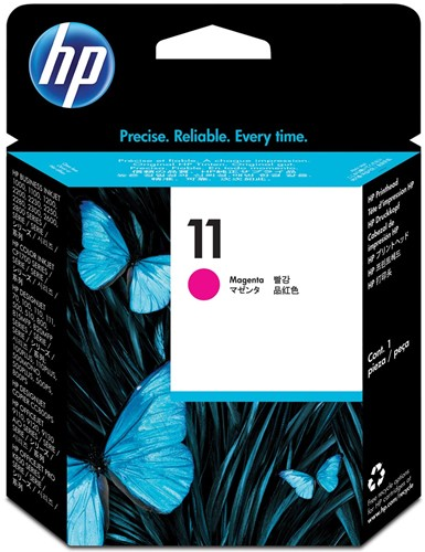 HP printkop 11, 24.000 pagina's, OEM C4812A, magenta