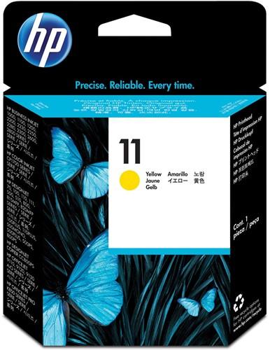 HP printkop 11, 24.000 pagina's, OEM C4813A, geel