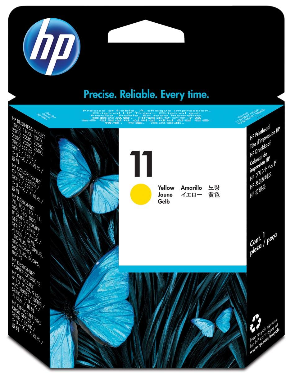 HP printkop 11, 24 000 paginas, OEM C4813A, geel