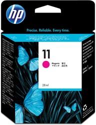 HP inktcartridge 11, 1200 pagina's, OEM C4837AE, magenta