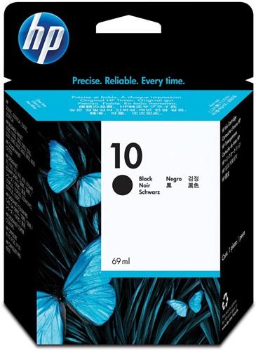 HP inktcartridge 10, 2.200 pagina's, OEM C4844AE, zwart