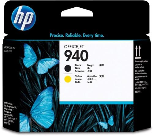 HP printkop 940, 1.000 pagina's, OEM C4900A, zwart-geel
