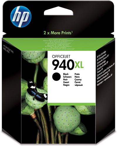 HP inktcartridge 940XL, 2.300 pagina's, OEM C4906AE, zwart