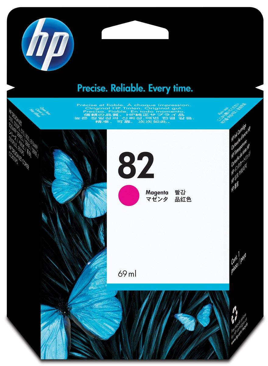 HP inktcartridge 82, 3 200 paginas, OEMC 4912A, magenta