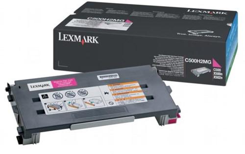 Lexmark Toner cyaan - 3000 pagina's - C500H2CG
