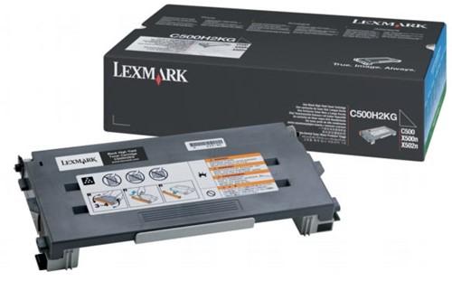 Lexmark Toner zwart - 5000 pagina's - C500H2KG