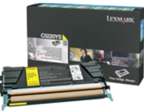 Lexmark toner geel, 3000 pagina's - OEM: C5220YS