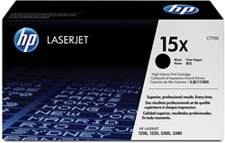 HP Tonercartridge zwart 15X - 3500 pagina's - C7115X