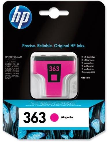 HP inktcartridge 363, 370 pagina's, OEM C8772EE, magenta