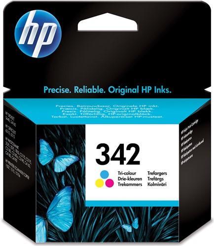 HP inktcartridge 342, 175 pagina's, OEM C9361EE#301, 3 kleuren, met beveiligingssysteem