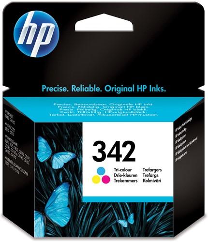 HP inktcartridge 342, 175 pagina's, OEM C9361EE, 3 kleuren