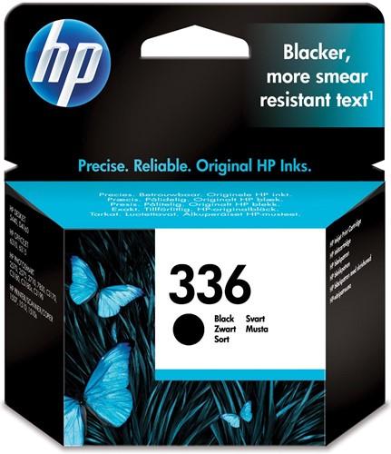 HP inktcartridge 336, 210 pagina's, OEM C9362EE, zwart